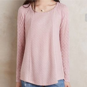 One September by Anthropologie knit sweater top!